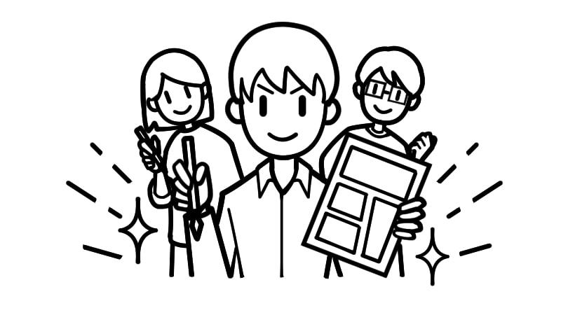 ハイクオリティの漫画家たち