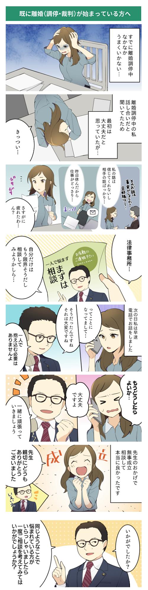 縦読み漫画 『この離婚が、新しい人生のスタートになるために』掲載サンプル4